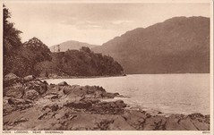 Loch Lomond Near Inversnaid
