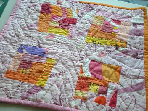 My Doll Quilt Arrived!!!