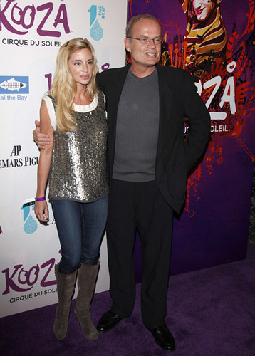Kelsey Grammer and wife Camille Grammer
