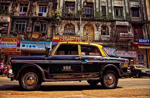 Taxi! Mumbai Style....