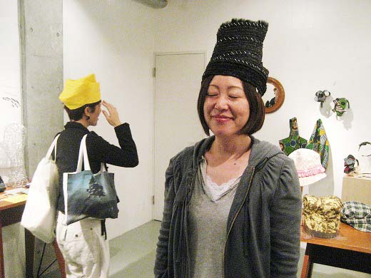 Suso Akiko Hat and Hair bands exhibition