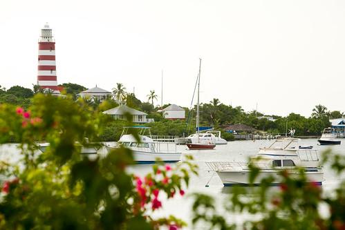 Elbow Reef Lightstation in Hope Town