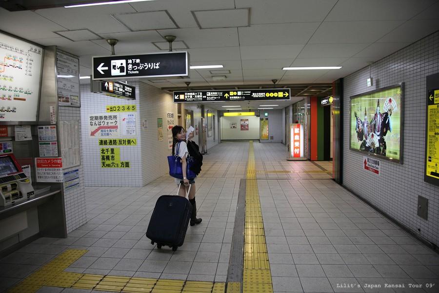 日本橋站下車六號出口方向