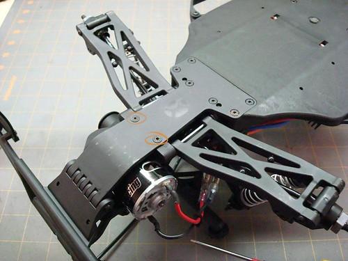 Lot de 4 2 chaque 35 mm /&. 70 mm Servo Arm FUTABA Heavy Duty