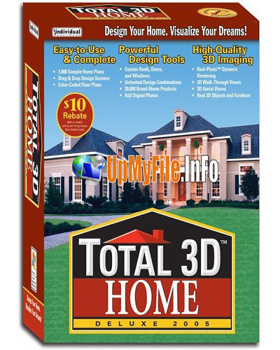 Total 3D Home Design Deluxe V8.0