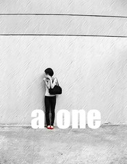 a - L - one (Giant.wannabe) Tags: blackandwhite bw girl beautiful beauty asian photography asia girly youngphotographer flickraward giantwannabe