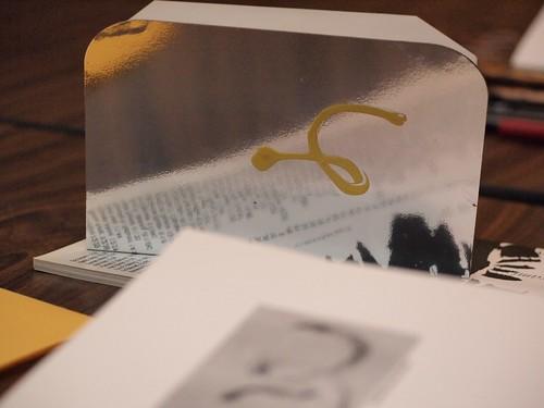 book reflecting