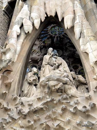 Nativity Façade: Assumption of Mary