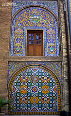 Golestan palace. Teheran, Iran