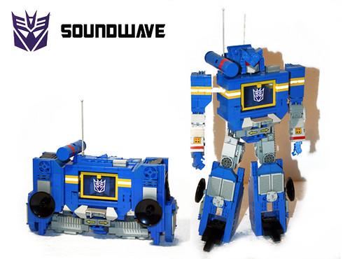Soundwave Lego MOC