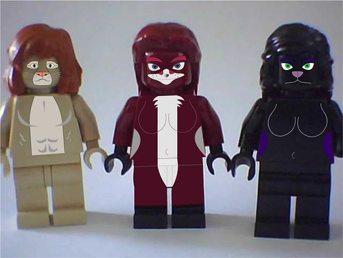 anthropromorphic minifigs (for Arealight)