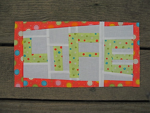 Free Pieced Letters