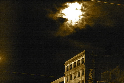 Moon above Kensington