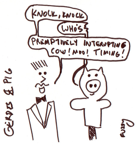 366 Cartoons - 109 - Gerdes and Pig