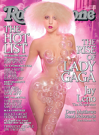 LADY GAGA covers Rolling Stone by nottonightpls.