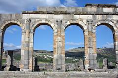 Arches Of The Forum (MykReeve) Tags: sky stone wall countryside arch roman horizon arches morocco volubilis المملكةالمغربية المغرب وليلي geo:lat=34073004 geo:lon=5554571
