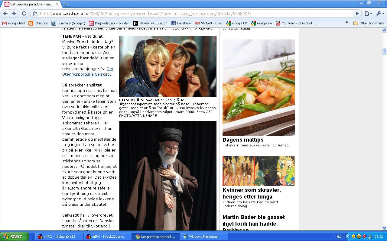 iran dagbladet