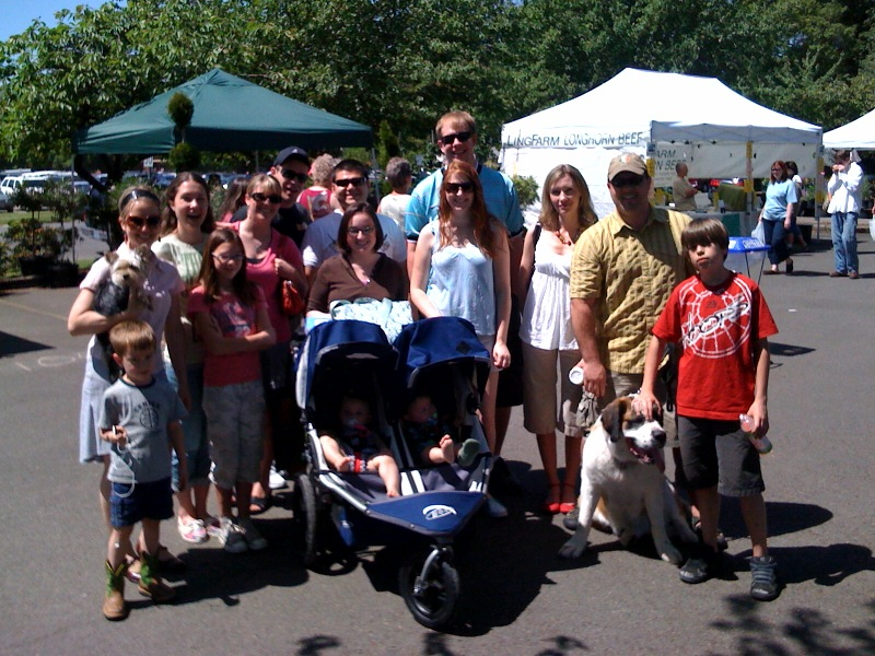 Just some of the folks we bumped into at The Saturday Market.