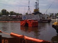 Kinnickinnic River dredging kickoff