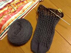 Lacy Ribs Socks(20090605)