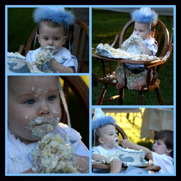 Cillian Eating Cake