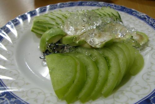 53.晚餐:黃瓜片