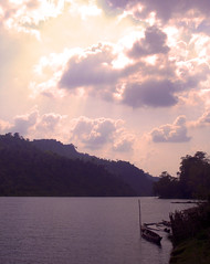 pause for a moment,heaven is all around you.. (dream_maze) Tags: light lake nature water beauty clouds bangladesh chittagong rangamati kaptai