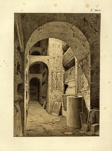 001- Escenografia de la cripta de San Cornelio-La Roma sotterranea cristiana - © Universitätsbibliothek Heidelberg