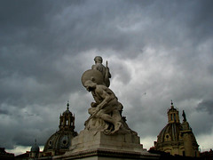 Storm Clouds Returning to Rome