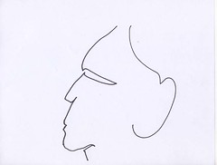 thats all have a good evening (universefringe) Tags: art drawing brian line marker form morrison potrait
