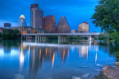 Austin at twilight