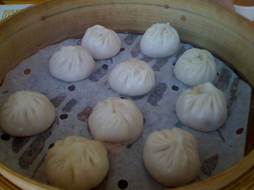 Shanghai House in San Francisco -  Soup Dumplings XLB