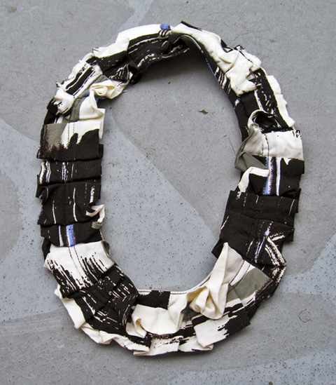 Ruffle Collar Necklace