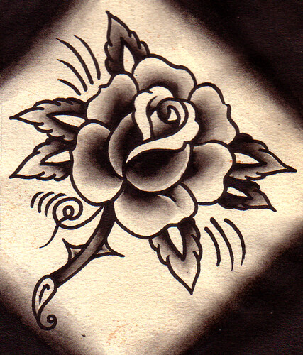 Rose tattoo designs for life