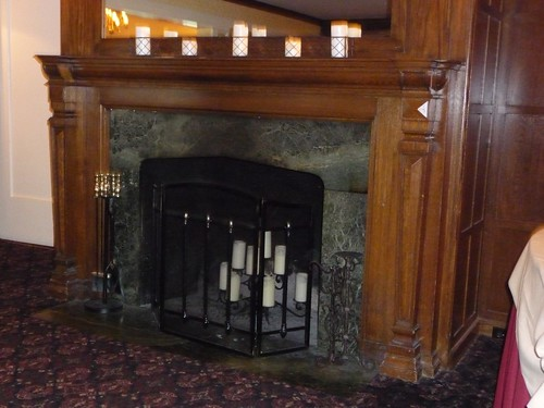 Fireplace Inside Meadow Edge
