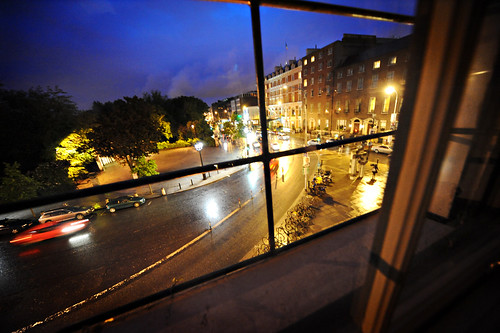 Looking onto Stephens Green