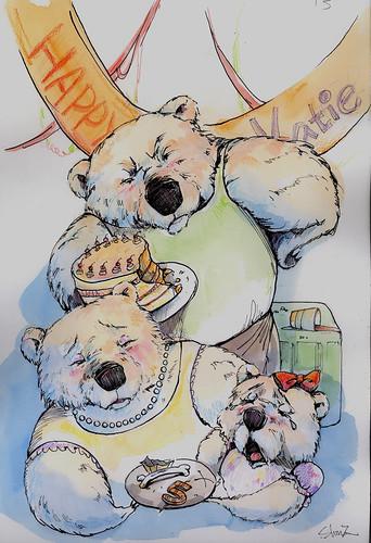 Goldylocks ate Katie's cake