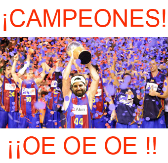 Barcelona campeon ACB 2009