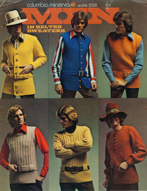 Men in Belted Sweaters