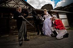 Gouvernante_2 (Rafael Metz) Tags: wedding horse bride rifle hochzeit pferd braut gewehr governess gouvernante