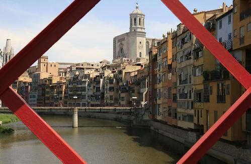Girona: río Onyar (Oñar)