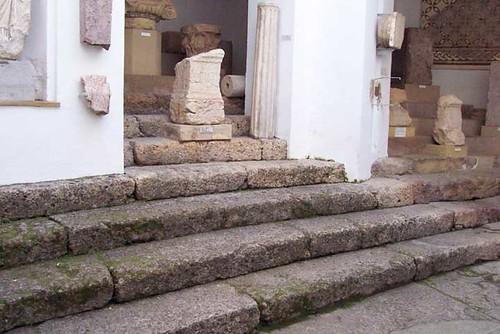 Escalinata.