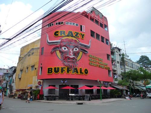 Crazy Buffalo, De Tham, Backpackers area, HCMC