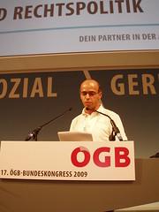 Hasan Tanyeli von der UGöD kritisiert scharf den AK- und EU-Wahlkampf der Freiheitlichen