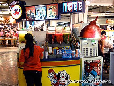 ICEE! We used to have this in Singapore till they were phased out by 7-11s Mr Slurpee