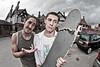 Parkour + Skateboard