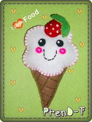 Heladin Kawaii  (PrenD-T) Tags: cute postre sweet handmade felt kawaii feltro helado hechoamano fieltro prendt