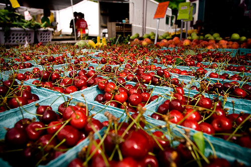 Farmers Market Cherries