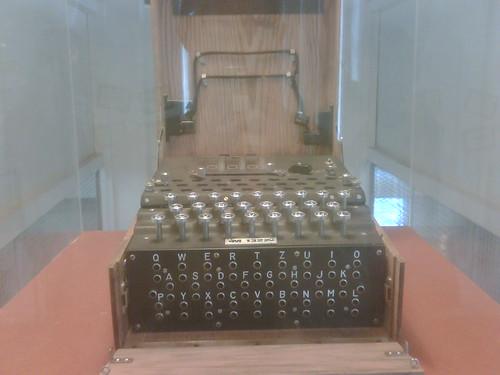 An Original Enigma Machine