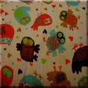 Owls Rib Knit